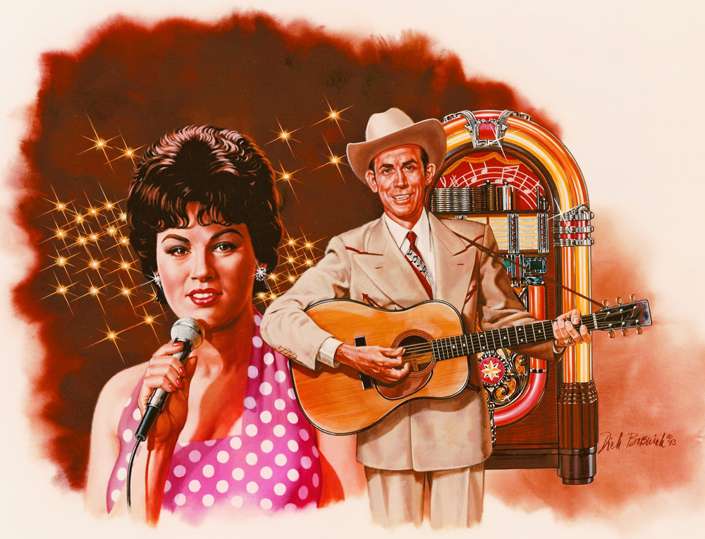 Patsy Cline, Hank Williams
