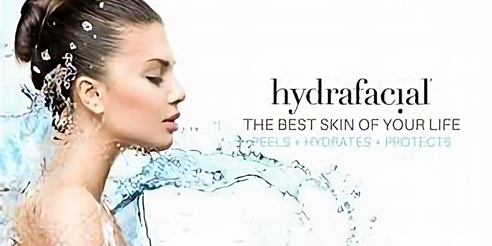 Hydrafacial Treatment! Now Through April, $30 from each Facial is Donated to LIFE!