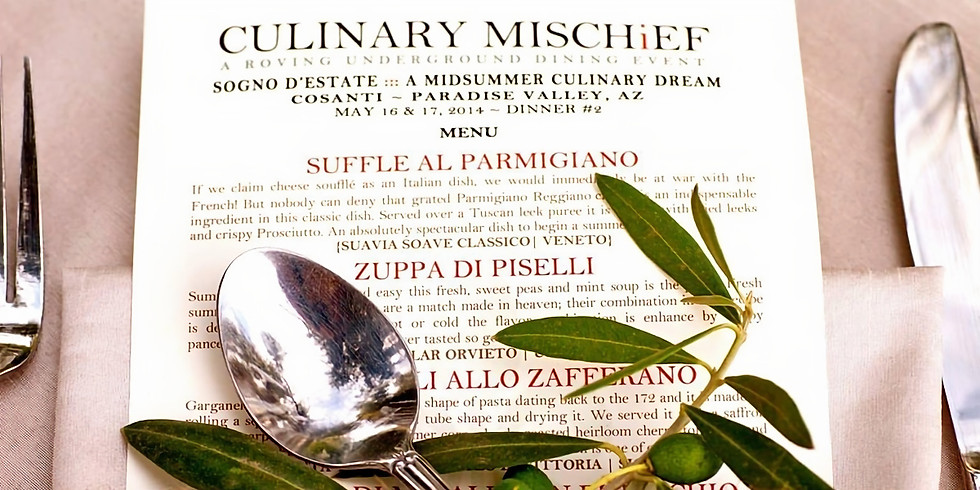 Private Dining Experience with Chef Gabriele Bertaccini