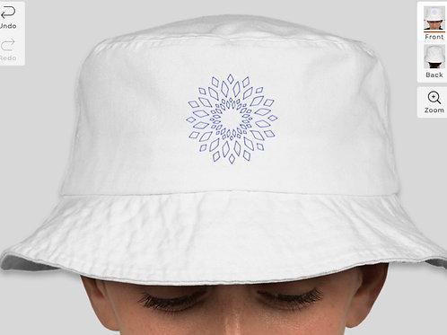 White LIFE Bucket Hat