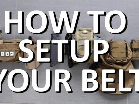 How To: Aufbau BattleBelt