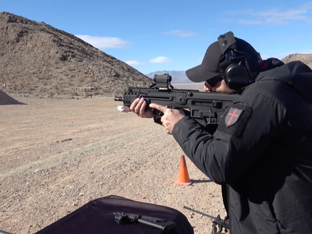 SHOT Show 2019: First Spear Range Day - IWI Weapon Industries