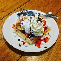 Our puddings are waffley good!