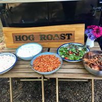 A great example of the sides we offer for our Hog Roasts and Gourmet BBQs.
