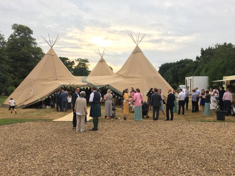 Tipi weddings are all the rage now, and we're the perfect fit for these types of gathering!