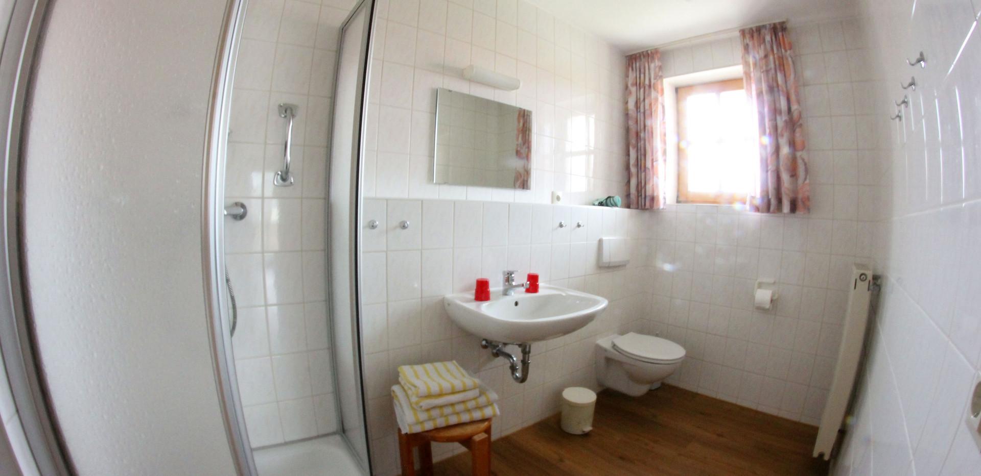 Beispiel Bad mit Dusche/WC