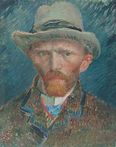 Zelfportret, Vincent van Gogh