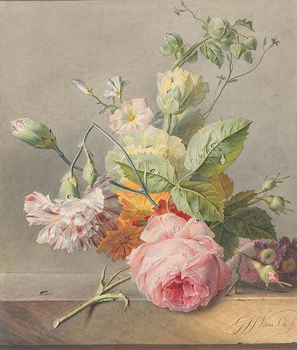 Bloemstuk, Georgius Jacobus Johannes van Os