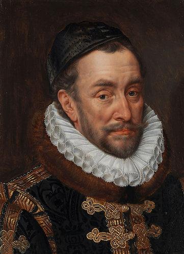 Portret van Willem I - Adriaen Thomasz