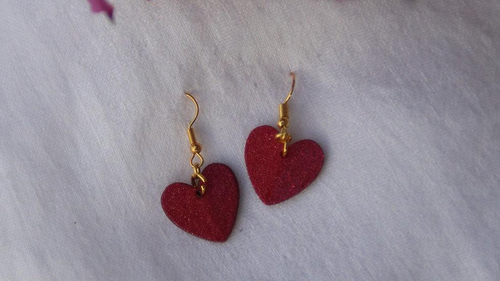 Small Drop Hearts