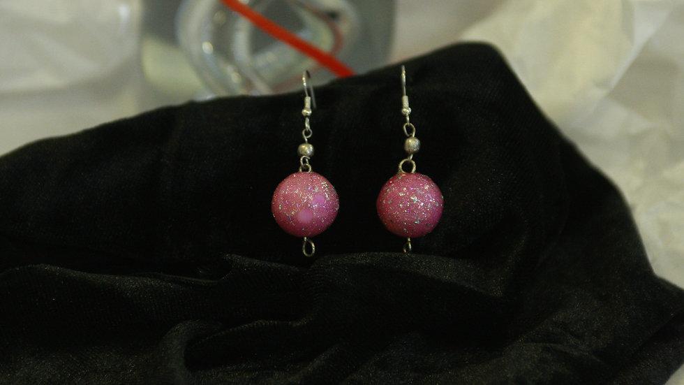 Pink Glitter Ball
