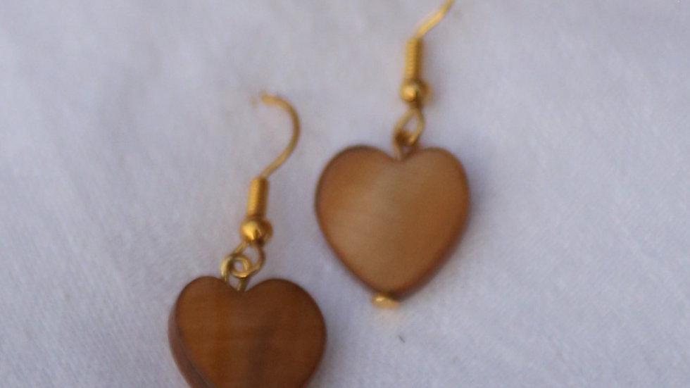 Caramel Drop Hearts