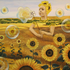 THE FAIRY OF SUNFLOWERS