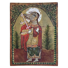 ST. CHRISTOPHER WITH THE HEAD OF A DOG