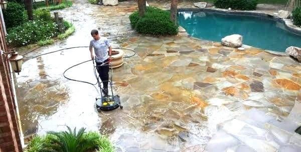 OUTDOOR STONE CLEANING & SEALING
