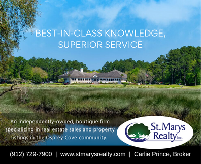 St. Marys Realty Print Ad for O