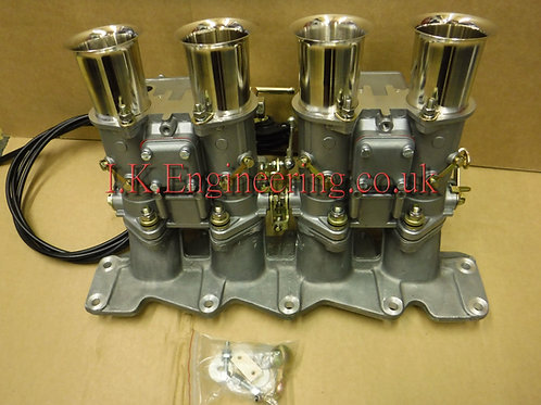 Zetec manifold kit twin 45 DCOE carbs
