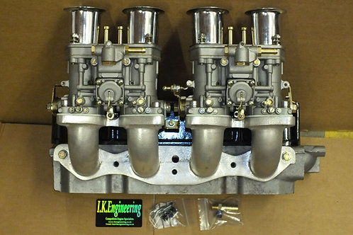 Ford X.Flow manifold twin 40IDF carbs