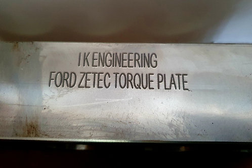 Ford Zetec Torque honing plate