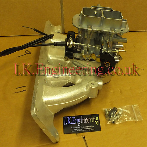 Vauxhall Z18XE manifold with 32/36 carb kit