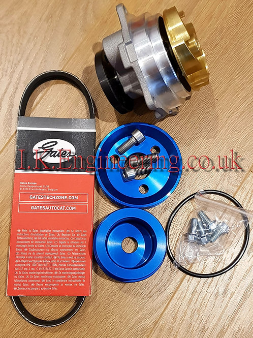 Zetec Blacktop water pump with drive kit
