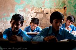BOYS AT CLASSROOM