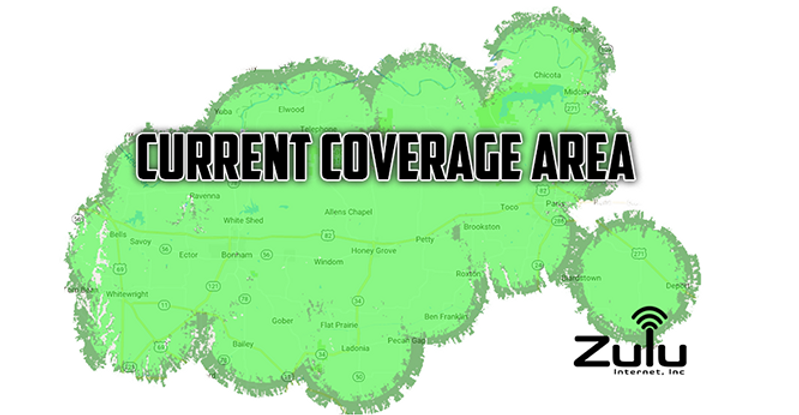 Zulu Internet Coverage Map