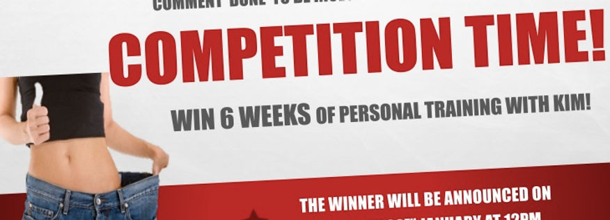 COMPETITION TIME: Win 6 weeks worth of FREE personal training in YORK with Kim of Move 4 Fitness