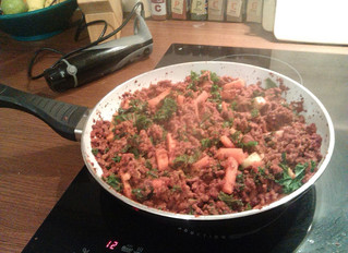 Yummy minced beef
