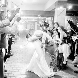 Navarre Florida Wedding Sparkler Exit