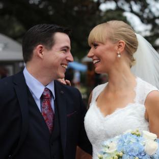 Pensacola Wedding Photography Downtown Bride and Groom