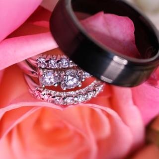 rings on roses wedding photographer destin florida