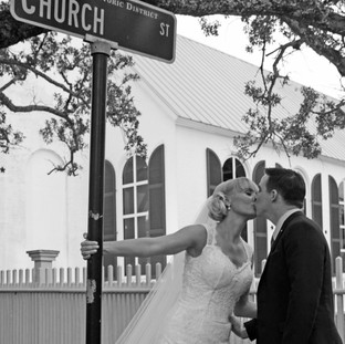 Old Christ Church Pensacola Florida Wedding Photographer