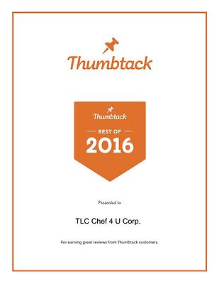 Thumbtack Pro Award