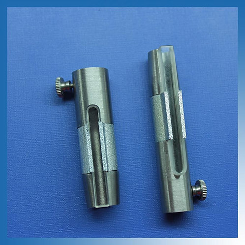 SYRINGE SHIELD with lead glass window: 007-900