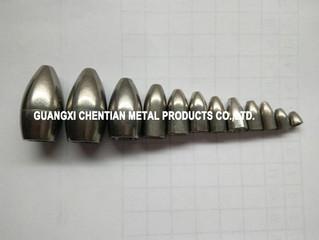 Tungsten Alloy Bullet Shape