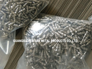 Tungsten Alloy Nail Shape