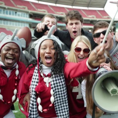 "EA Sports NCAA Football Cover Vote - ""Alabama"""