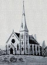 An original sketch of Port Hope First Baptist
