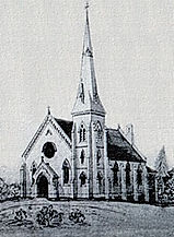 An original sketch of Port Hope First Baptist