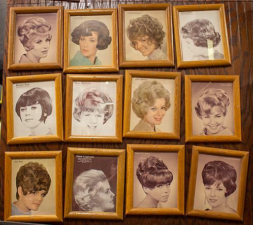 Framed Beauty Salon Ladies Hair Styles