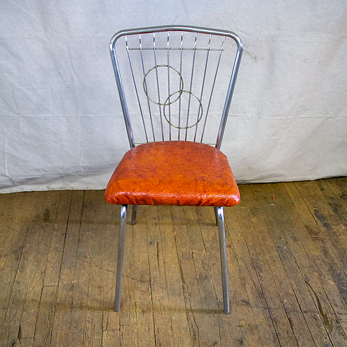 Wire Back Diner Chair