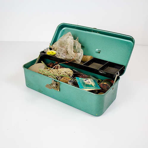 Aqua Green Tackle Box