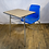 Thumbnail: Student Desk with Chair Attached