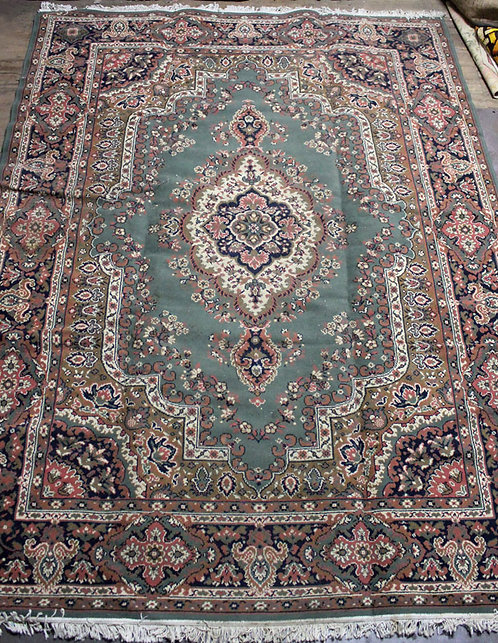 #10 Sage and Pink Persian Rug