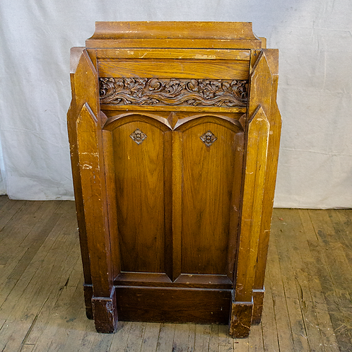 Ornate Front Wood Pulpit