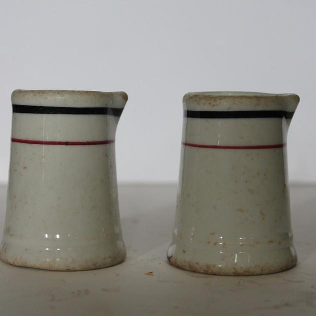 Ceramic creamer set