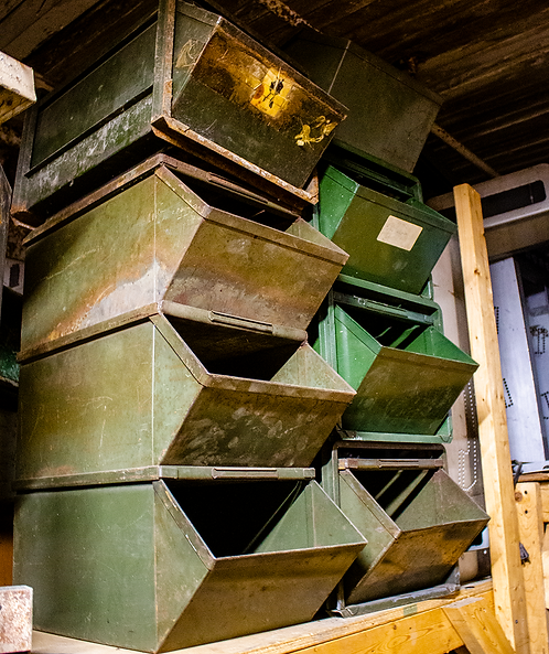 Industrial Stacking Bins