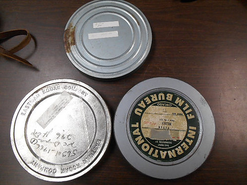 Vintage Film Reels and Film Canisters