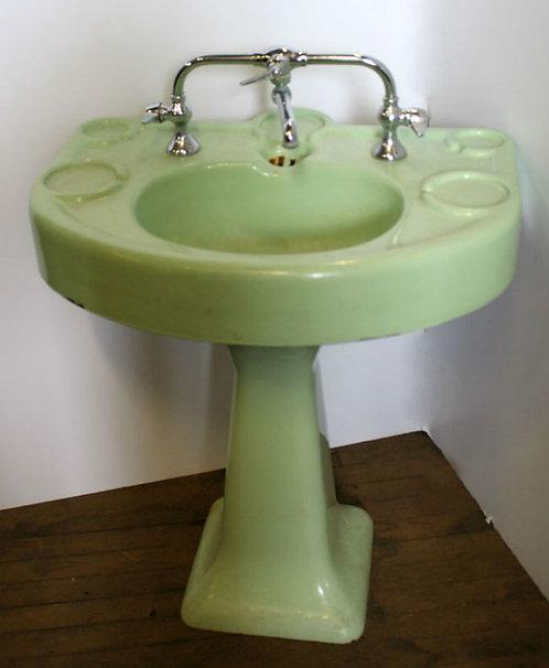 Mint Green Sink